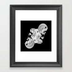 CyberMimes v.1 Framed Art Print