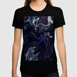 Mixed dark abstract T-shirt