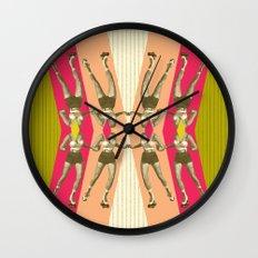 stay athletic, stay geometric ! Wall Clock