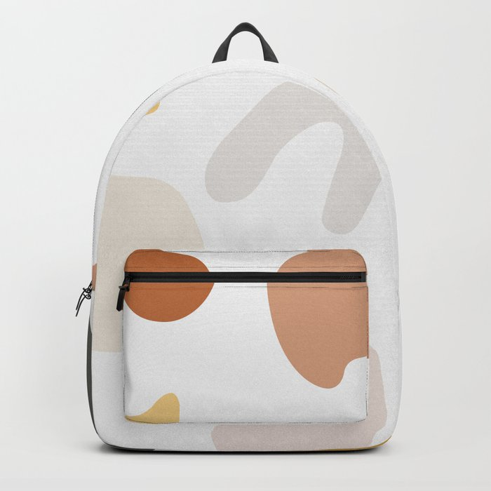 Abstract Shape Series - Autumn Color Study Rucksack
