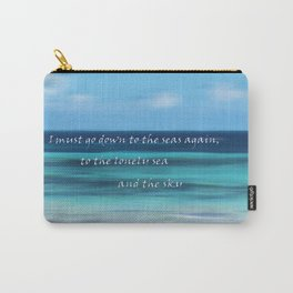 Must Go Down to the Sea Carry-All Pouch