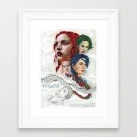 eternal sunshine Framed Art Prints featuring Eternal Sunshine by Laura O'Connor