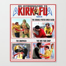 An Introduction to Kirk - Fu Canvas Print