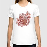 dangan ronpa T-shirts featuring Cherry Blossoms by bitterkiwi