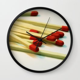 Matchpoint Wall Clock