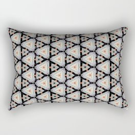 Fumy Marabout Pattern Rectangular Pillow