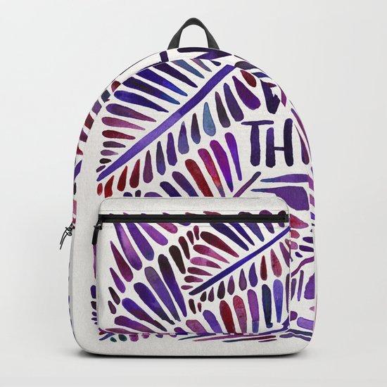 Wild Thing – Indigo Palette Backpack