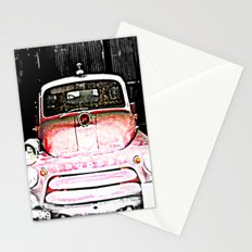 Dodge fire Truck Stationery Cards