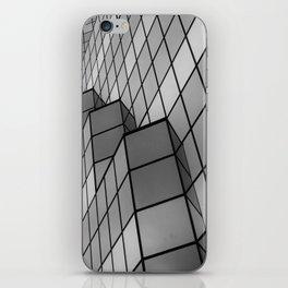 Skyscraper in b&w iPhone Skin