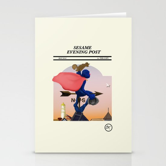 I am the morning Stationery Cards
