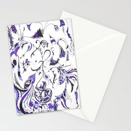 Exaustion Stationery Cards
