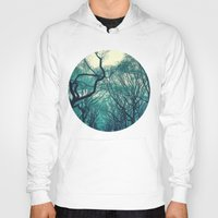 central park Hoodies featuring Central Park Trees by Jason Simms