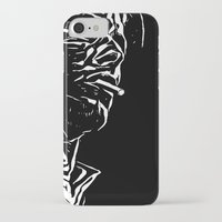 bowie iPhone & iPod Cases featuring Bowie by Anvil Design California