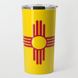 State flag of New Mexico - Authentic version Travel Mug