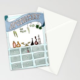 Apothecary 2 Stationery Cards