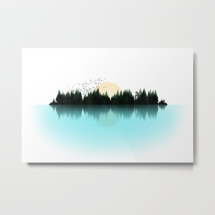 The Sounds of Nature Metal Print