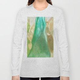 356 - Abstract Design Bottles Long Sleeve T-shirt