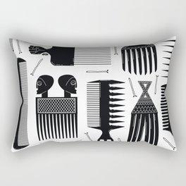 Comb Through Rectangular Pillow
