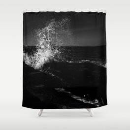 CONNECTING Shower Curtain