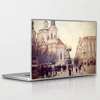 prague Laptop & iPad Skins featuring Prague by Sushibird