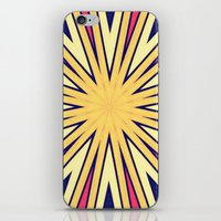 spires iPhone & iPod Skins featuring Spires by Abstracts by Josrick