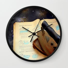Gone To Press Wall Clock
