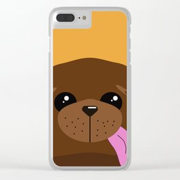 Dog 4 Clear iPhone Case