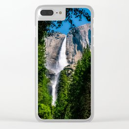 Falls Through the Foliage Clear iPhone Case