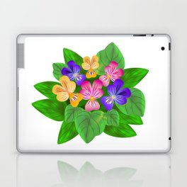 Violet Bouquet, flower, flowers Laptop & iPad Skin