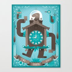 Cuckoo-o-tron Canvas Print