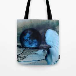 The Moon Fell For Me Tote Bag