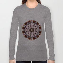 Donkey Flower Kaleidoscope  Long Sleeve T-shirt