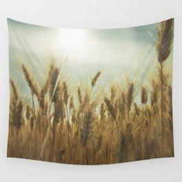Near Harvest Wall Tapestry