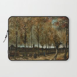 Vincent Van Gogh Poplars Near Nuenen Laptop Sleeve