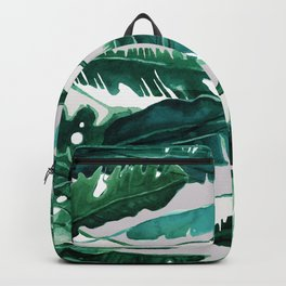 Horizontal Leaves Backpack