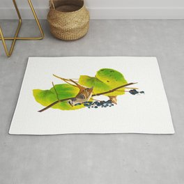White-crowned Sparrow Bird Rug
