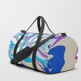 Abstract floral in colour Duffle Bag