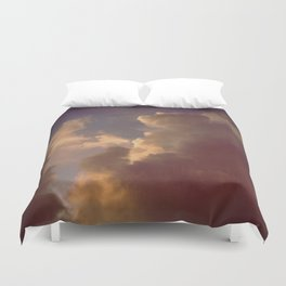 After the Storm (Blue Version) Duvet Cover