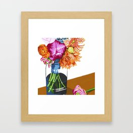 Summer Blossoms Framed Art Print