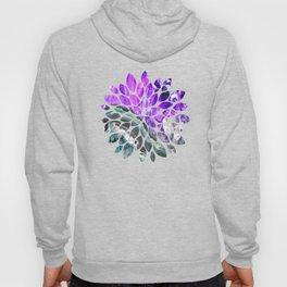 Purple Agate Crystal Hoody