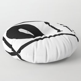 'Record Player' Floor Pillow