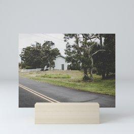 House on the Green - Hilo, Hawaii Mini Art Print