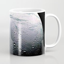 Saturn's moon Enceladus Space Mission Fly-by Photograph No. 3 Coffee Mug
