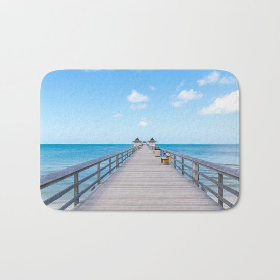 On the Pier Bath Mat
