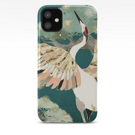 Golden Crane iPhone Case