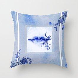 Porcelain Lolita Throw Pillow