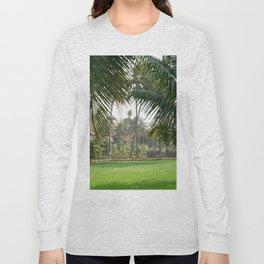Exotic Palm Trees Long Sleeve T-shirt
