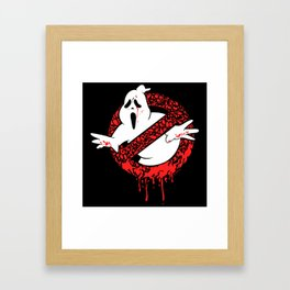 SCREAM BUSTERS Framed Art Print