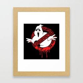 SCREAM BUSTERS Framed Art Print