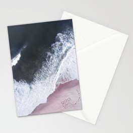 I love the sea - heart and soul Stationery Cards